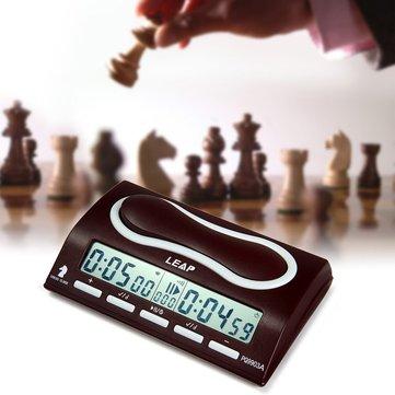 Đồng hồ cờ kỹ thuật số Đếm ngược xuống Đồng hồ báo thức cờ vua cho I-go với 29 chế độ