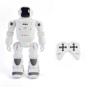 DEVO Robot Pintar RC Robot Programmable Infrared Gesture Control Dance LED Ekspresi Robot Mainan