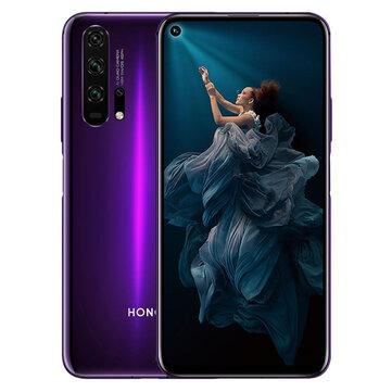 HUAWEI HONOR 20 Pro 6.26 इंच 48MP क्वाड रियर कैमरा एनएफसी 8GB RAM 128GB रोम किरिन 980 ओक्टा कोर 4G स्मार्टफोन