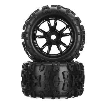 DHK Maximus 8382 704 18 Wheel Tire Tyre Rim Glued Complete 2PCS RC Car Parts