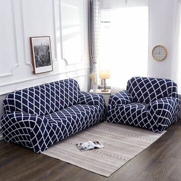 2//3 Seater Elastic Sofa Covers Slipcover Settee Stretch Couch Protector