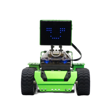 $111.99 For Robobloq Qoopers DIY 6 In 1 Smart Program Avoidance APP RC Robot Car Kit