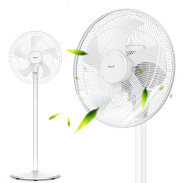 Deerma DEM-FSJ31 Household Fan From Xiaomi Eco-system Five Leaves Mechanical Mute Air Circulation Fan for Living Room Bedroom