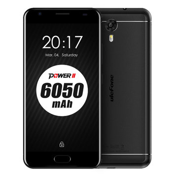 Ulefone Power 2 Android 7.0 Touch ID 5.5 Inch 4GB RAM 64GB ROM MTK6750T Octa-core 4G Smartphone