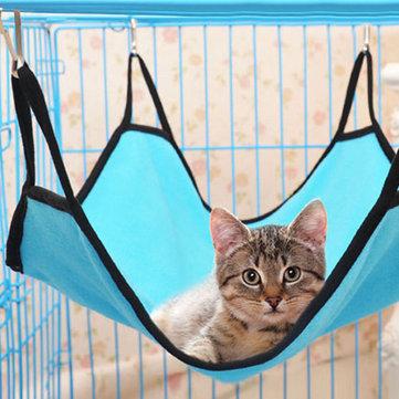 Домашнее животное Кот Собака Гамак Soft Кровать Животный висячий комплект для приусадебного участка Ferret Cage House