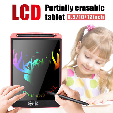 """12"""" LCD Tablet Drawing Writing Board Kid Notepad eWriter Digital Graphic Gifts"""