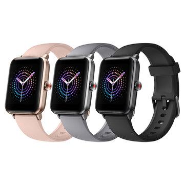 Ulefone Watch Pro 1.55 Inch Big Display Dynamic UI Wristband 14 Sport Modes Tracker Blood Pressure Oxygen Monitor 40 Days Standby Smart Watch