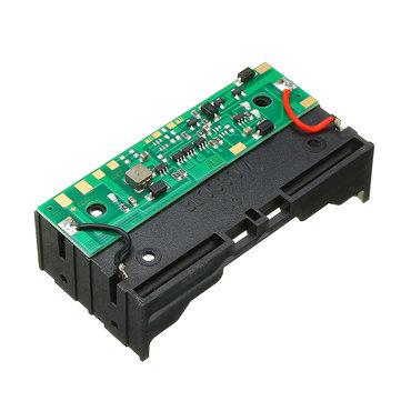 5V 2 * 18650 סוללה ליתיום טעינה UPS ללא הפרעה הגנה משולבת הלוח Boost מודול עם מחזיק סוללה