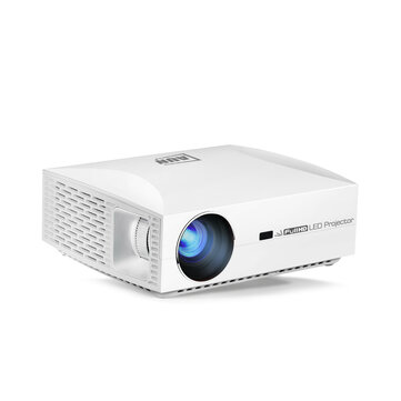 AUN F30 Projetor Full HD 1920x1080. Projector LED para Home Theater 5500 Lumens 3D 4K Projector