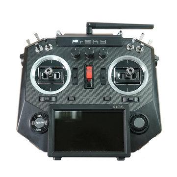 FrSky Horus X10S 16 Saluran RC Drone Transmitter Mode 2 MC12plus Gimbal Carbon Fiber Panel