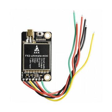 AKK FX2 Ultimate Mini International 5.8GHz 40CH 25mW/200mW/600mW/1200mW Switchable FPV Transmitter