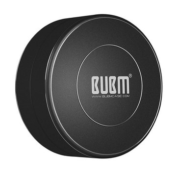 BUBM Metal Outdoor Waterproof Earphone Organized Box USB Cable Accessory Collection Storage Bag