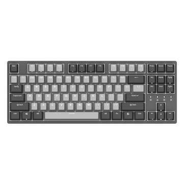 DURGOD K320 Corona Cherry MX Silent Red Switch 87 Key PBT Keycaps Mechanical Gaming Keyboard