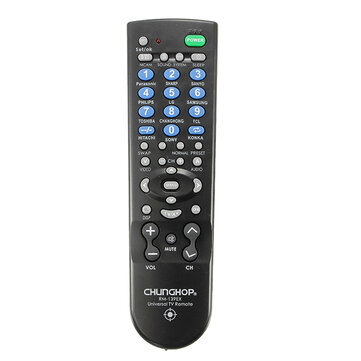 CHUNGHOP RM139EX Universal Replacement Remote Control for TV Set