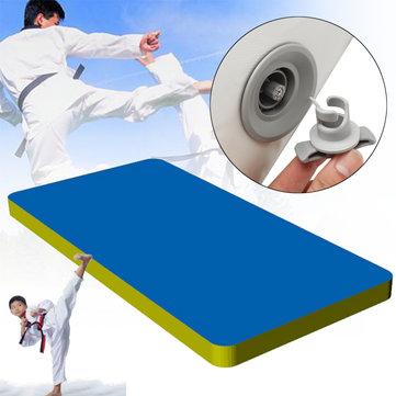 157.5x35.4x3.9inch Inflatable Air Tumbling Track Gymnastics Mats Home Floor Training Equipment