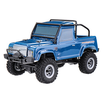URUAV 1/24 4WD 2.4G Mini RC Car Crawler Model Vehicle Waterproof RTR