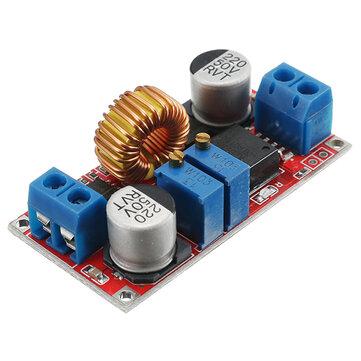 Đầu ra 1.25-36V 5A Dòng điện liên tục Điện áp pin liên tục Bộ sạc pin Mô-đun cung cấp LED Trình điều khiển công suất cao Công suất thấp Ripple Hiệu suất bảo vệ ngắn mạch hiệu quả cao