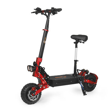 [EU DIRECT] Bezior S2 21Ah 48V 2400W Dual Motor Folding Moped Electric Scooter 11inch 40Km_h Top Speed 60km Mileage Range Max Load 120kg