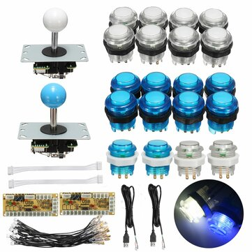 Joystick a pulsante USB Encoder 0 Delay Arcade Game Kit fai da te