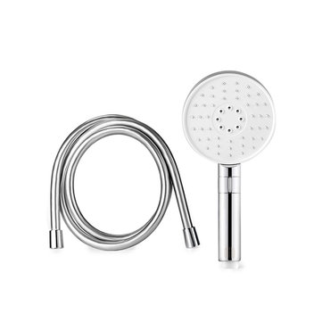 Diiib 3 Modes Adjustment Handheld Shower Head Set 360° 120mm 53 Water Hole with PVC Matel from Xiaomi Youpin