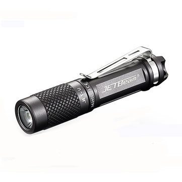 Jetbeam JET-U XP-G2 135LM 3Modes Mini EDC LED Flashlight 1 x AAA