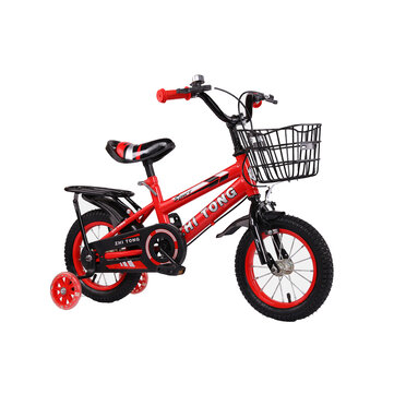 12inch/16inch 2 Wheels Kids Bike with Pedal Flashing Guar Wheels Children Bicycle for Beginner Rider Training for Ages 3-7 Childs