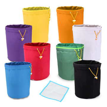 5 Gallon Filter Hash Bag Ice Bubble Herbal Plant Extractor With Pressing Mesh Screen