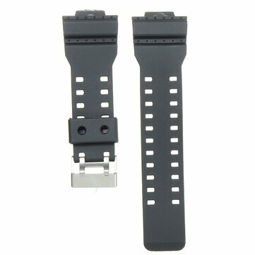 22mm Replacement Frosted Silicone Rubber Watch Band Strap For CASIO G Shock