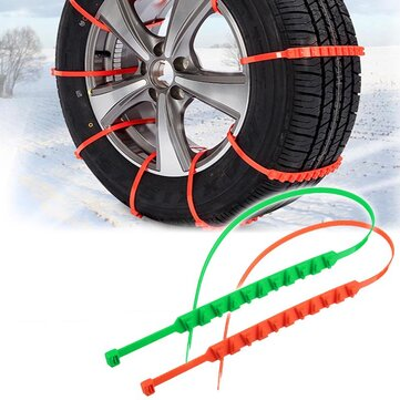 20 Pcs Car Snow Chain Universal Anti Slip Rainproof Adjustable Snow Chains Car Styling Outdoor Climbing for sale in Litecoin with Fast and Free Shipping on Gipsybee.com