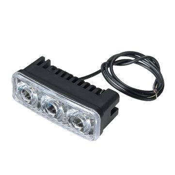 12-80v 9w 6000-6500k moto motorino auto elettrica LED faro