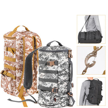 Buy 23L Fishing Gear Shoulder Cylindrical Shape Bag Tackle Backpack Case for Outdoor Storage Bags with 1 on Gipsybee.com