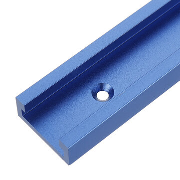 Aluminium 300-1220mm T-Track T-Slot Miter Jig For Woodworking Router Tool