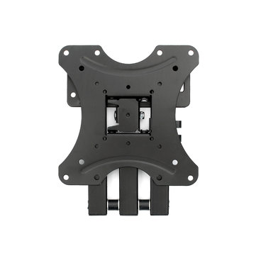 TV Wall Mounted Bracket Steel Tilt With Swivel Arm For 17-37 Inch LED LCD Monitor