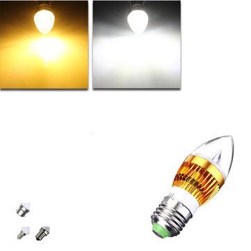 E12 e14 e27 b22 dimmable 9w LED lampadina candela ciondolo 220v