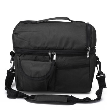 8L Insulated Lunch Box Tote Men Women Travel Hot Cold Food Cooler Thermal Bag  for sale in Litecoin with Fast and Free Shipping on Gipsybee.com