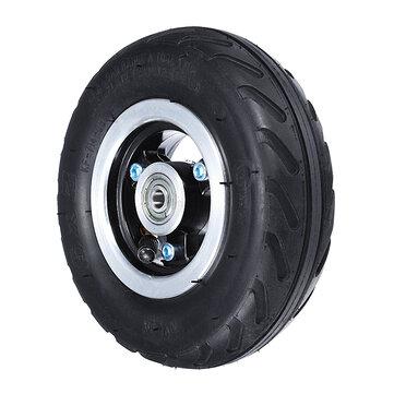 Rueda del neumático del tubo interno de la inflación 6X2 uso vespa del neumático neumático del eje 160m m de la aleación del neumático 6inch