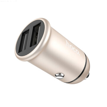 Buy Hoco Z30 Mini Car Charger 3.1A Dual USB Charging Block For Laptop Notebook Mobile Phone with 7 on Gipsybee.com