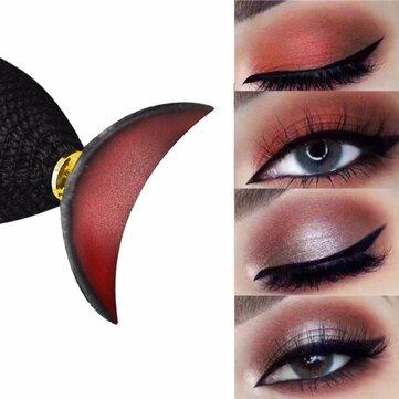 Silikonögonskuggning Stamp Crease Creative Design Eyes Lata ögonskuggapplikator Makeup Tools