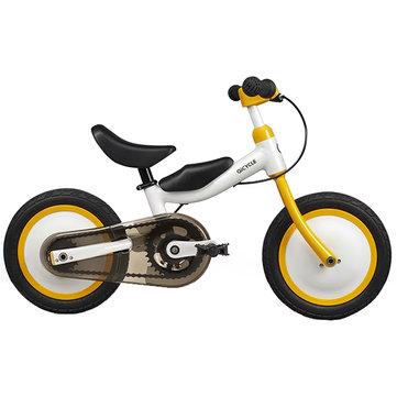 """QICYCLE Balance Bicicleta Triciclo Scooter 12 """"para Crianças Amarelo Cor Slide Bicicleta Duplo Uso De Xiaomi Youpin"""