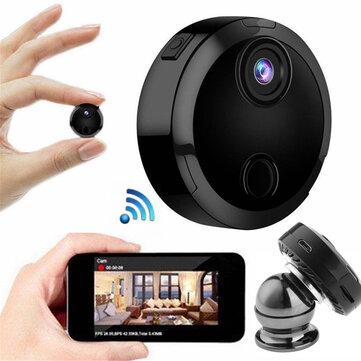 Mini HD 1080P WiFi inalámbrica Seguridad IP Cámara Visión nocturna Videocámara doméstica Control de APP
