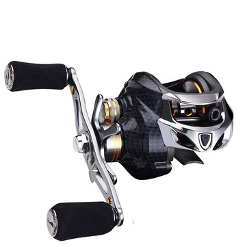 ZANLURE TAI A113  1 18+1BB Carbon Fiber Baitcasting Fishing Reel 8KG Drag Left or Right Hand Fishing Wheel Coupon Code and price! - $40