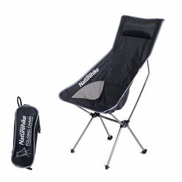 Wondrous Naturehike Nh17Y010 L Aluminum Folding Chair Max Load 100Kg Machost Co Dining Chair Design Ideas Machostcouk
