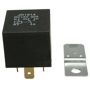 4 Pin 40A 12V 40 Amp Relay Normally Open Contact For Auto Car Boat
