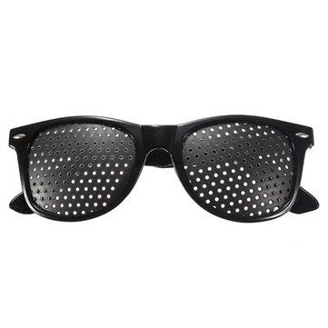 Cuidado de los Ojos Gafas de Agujero de Afiler Anteojos de Ejercicio para Mejorar la Visión