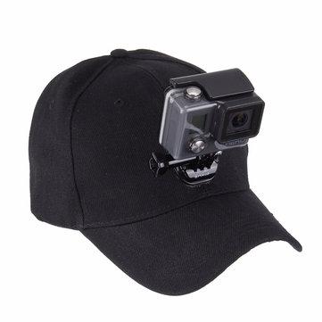 US$6.25 % PULUZ На открытом воздухе Sun Шапка Topi держатель для бейсбольной кепки для гопро Аксессуары для фото и видео from Электроника on banggood.com
