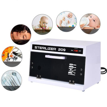 Buy UV Sterilizer Box UV Sterilizer Cabinet Nail Salon Tools Disinfection Germicidal Appliance Dental Tools Sanitizer EU Plug with Litecoins with Free Shipping on Gipsybee.com
