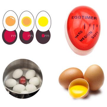 KCASA KC-008 1 pc अंडे का सही रंग बदलना टाइमर यम्मी Soft हार्ड उबले अंडे खाना पकाने के रसोई पर्यावरण क