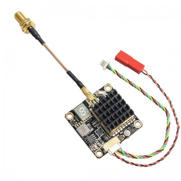 AKK FX2-Dominator 250mW/500mW/1000mW/2000mW Switched Smart Audio 5.8Ghz 40CH FPV Transmitter Raceband Sender With MIC for RC Racing Drone