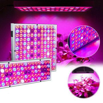 LED Grow Light Hydroponic Full Spectrum Indoor Plant Flower Growing Bloom Lamp 85-265V