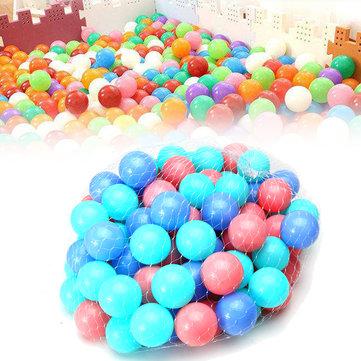 100Pcs Colorful Ball Soft Plastic Ocean Ball Baby Kid Swim Pool Pit Toy